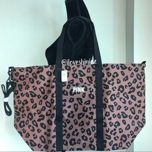•Victoria's Secret PINK• Canvas Tote Bag